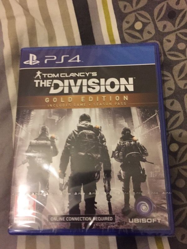 The Division PS4 Gold Edition Sealed in  Hanham