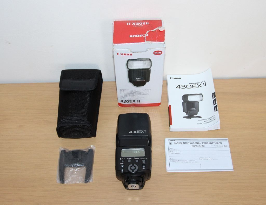 Canon Speedlite 430EX II. Boxed in Excellent Condition. in 