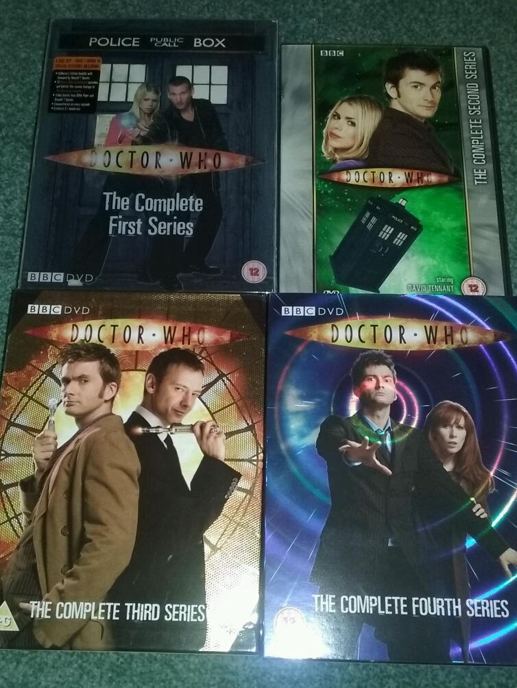 Doctor Who Dvds in 