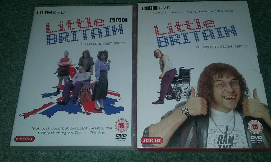 Little Britain Dvds in 