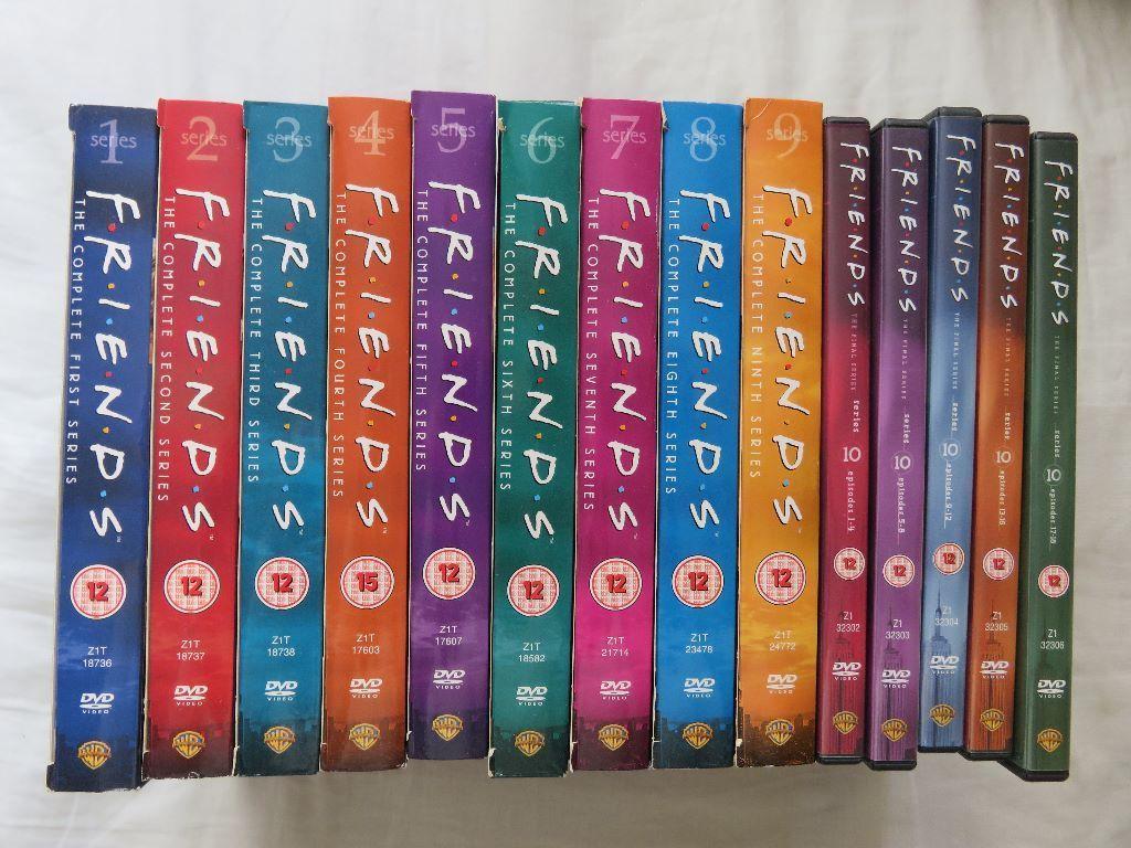 friends dvd series 1-10 in  Cambridge