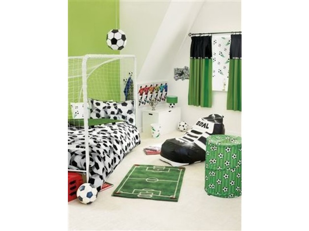 Bargain !! Pine mid sleeper bed, mattress NEXT play tent, bedding, rug, lamp all accessories &pou