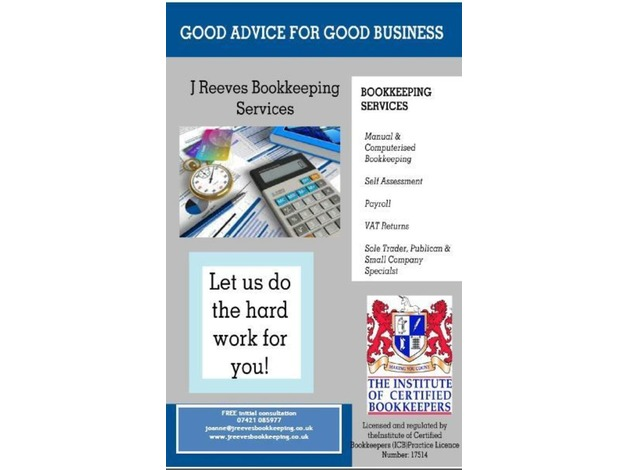 Bookkeeping and Administration Services in Congleton