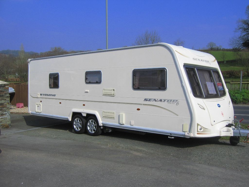 Bailey SENATOR WYOMING 2008 Series 6 Model. (First registered November 2007) in 
