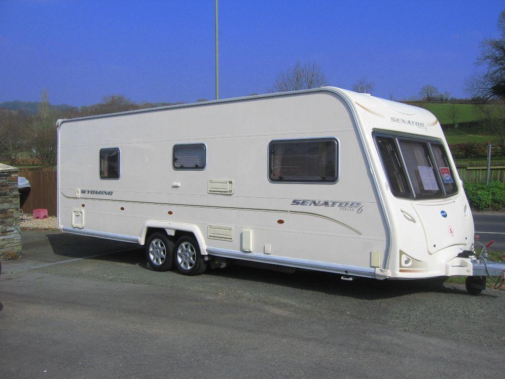 Bailey SENATOR WYOMING 2008 Series 6 Model. (First registered November 2007) in  Dawlish