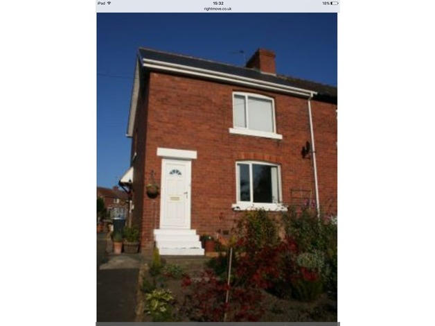 SPECIAL OFFER Two Bed Semi Detached House For Sale in Lanchester with 5% DEPOSIT  PAID in Durham