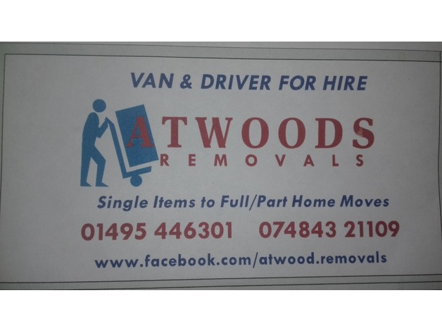 van & driver for hire  in Ebbw Vale	 - 1