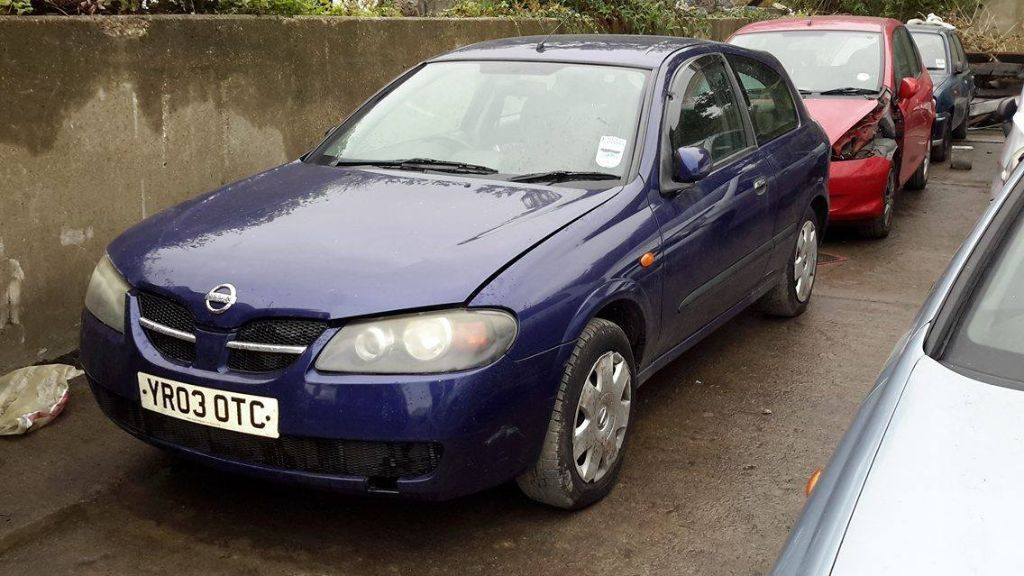 Breaking Nissan Almera - Nissan almera car parts spares repairs 2002-2006 model in 