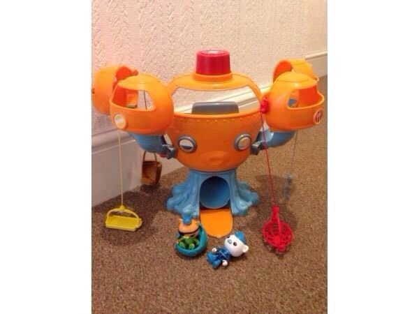 Octonauts octopod in 