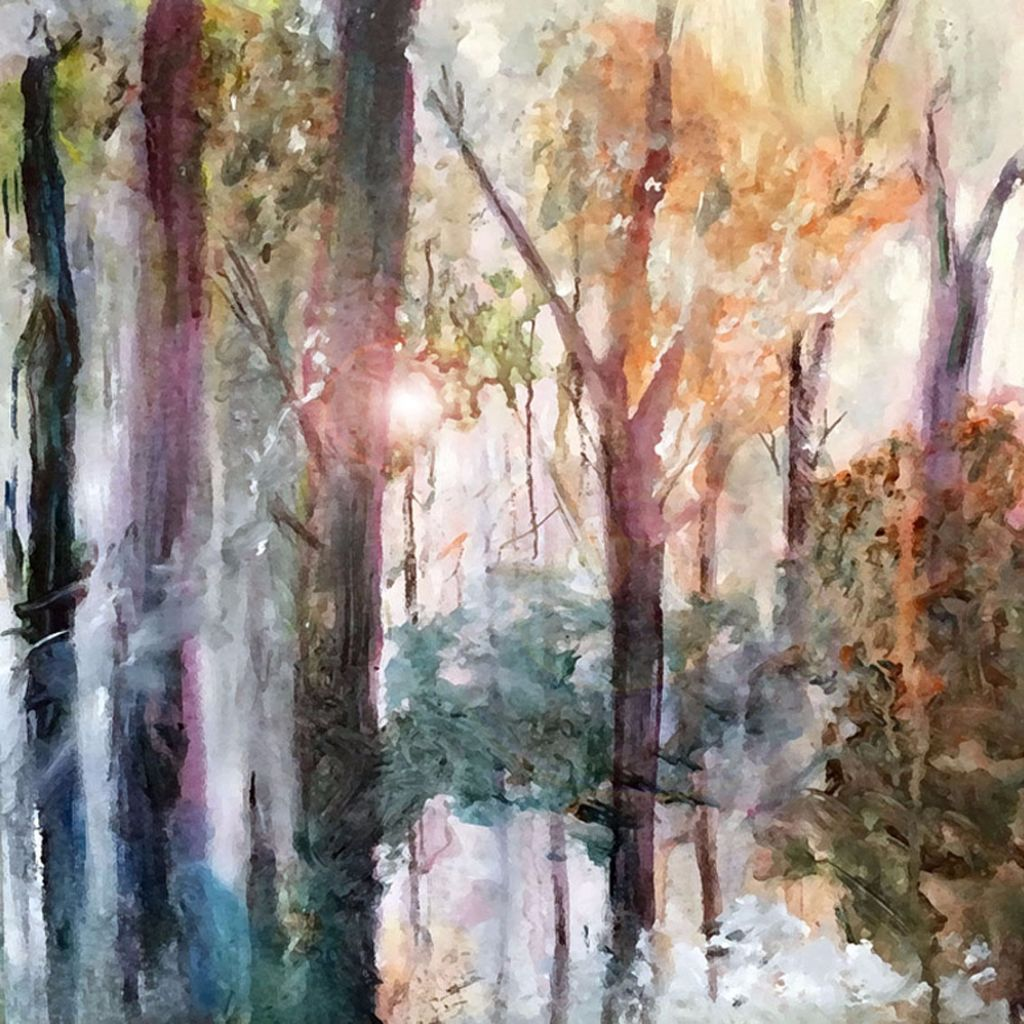 Learn to Paint in Acrylic without a Brush for exciting effects CO3 Gallery Colchester in  Colcheste