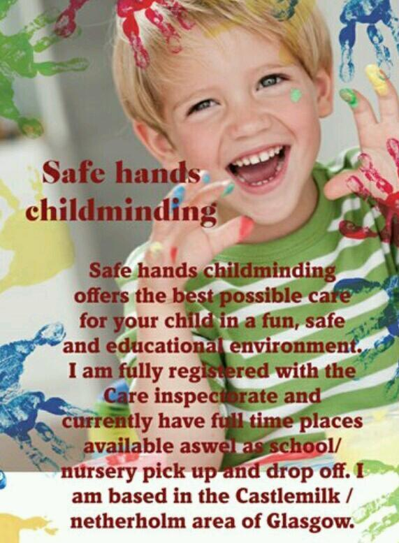 Safe hands childminding in 