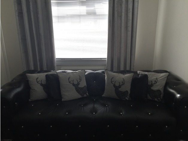 genuine swarovski leather sofa set in Glasgow