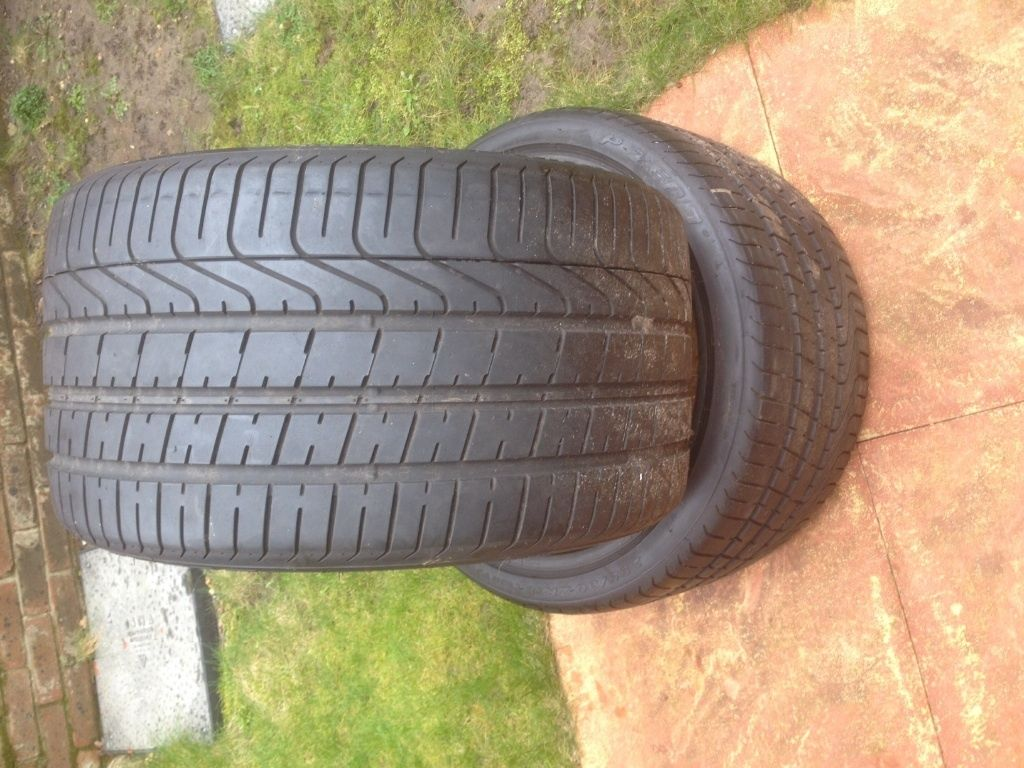2x Pirelli 295/30y19 tyres £120 the pair BARGIN in 