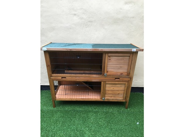 Outdoor 2 story Guinea pig hutch in Hartlepool
