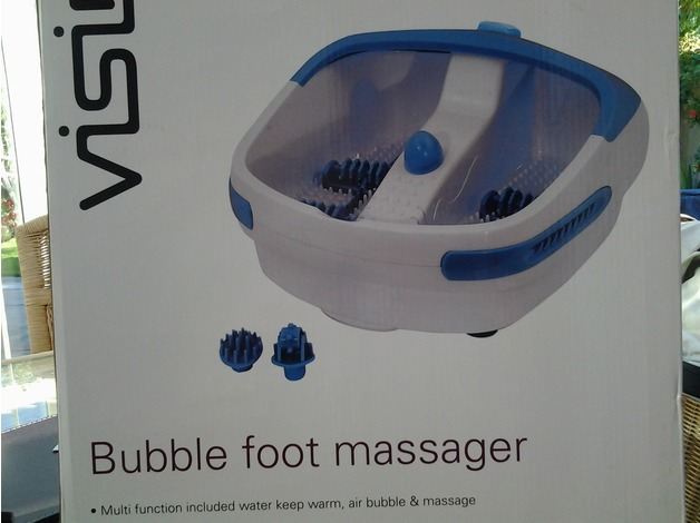 Boxed bubble foot massager in Havering