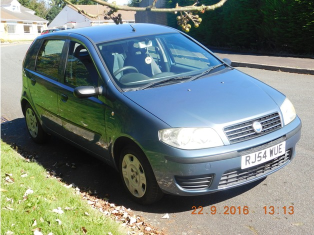Used 2004 Fiat Punto 1.2 Active for sale in Hengoed