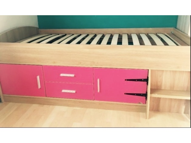 MIDSLEEPER CABIN BED WITH STORAGE in Huntingdon