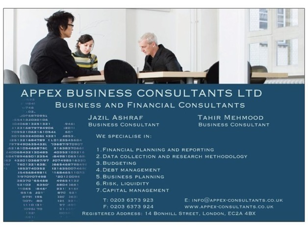 Appex Business Consultants ltd in Islington