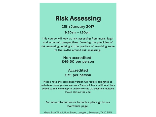 Risk Assessing - Accredited in Langport