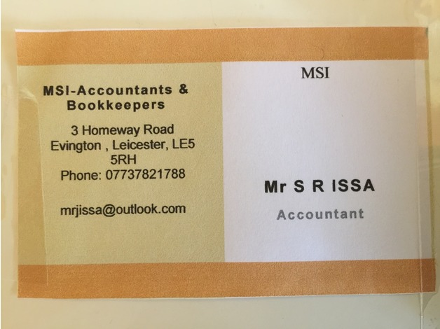 Accountants , Bookkeepers & Tax Advisors at LOW COST in Leicester