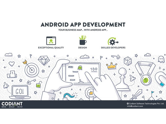 Hire a skilled pool of Android App Developers- CODIANT  in Leicester