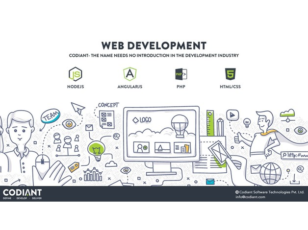 Flexible & Robust Web Designing and Development at CODIANT in Leicester