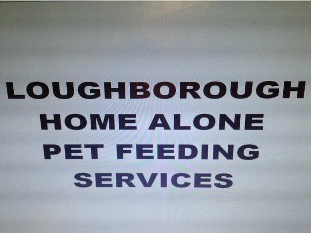 LOUGHBOROUGH HOME ALONE PET FEEDING SERVICES in Loughborough