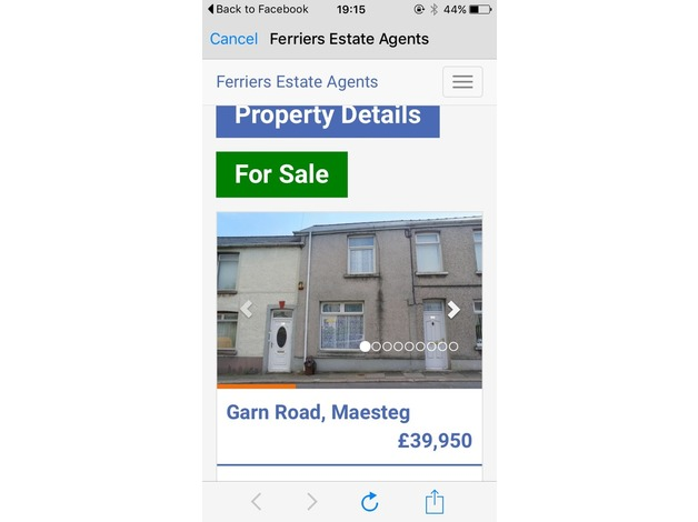 House for sale  in Maesteg