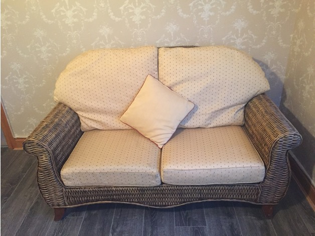 Wicker Sofa and Seat in Newry