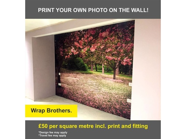 Print your photo on the wall! in Nottingham