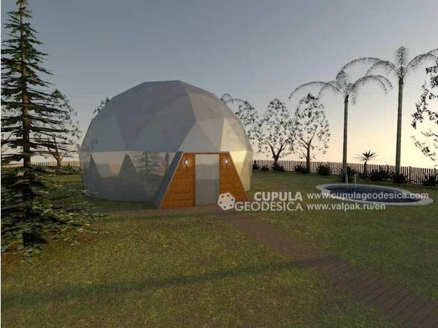 Prefabricated dome home 120 m2 in Pwllheli