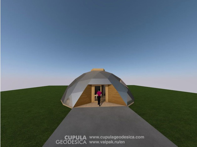Flame resistant Aluminum Roof Dome Home or Office. in Pwllheli