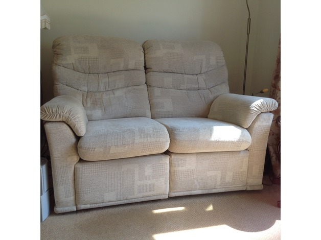 G Plan two seater electric reclining sofa in Rotherham