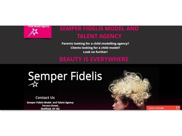 Semper Fidelis model and talent agency is looking for new faces to join. in Sheffield