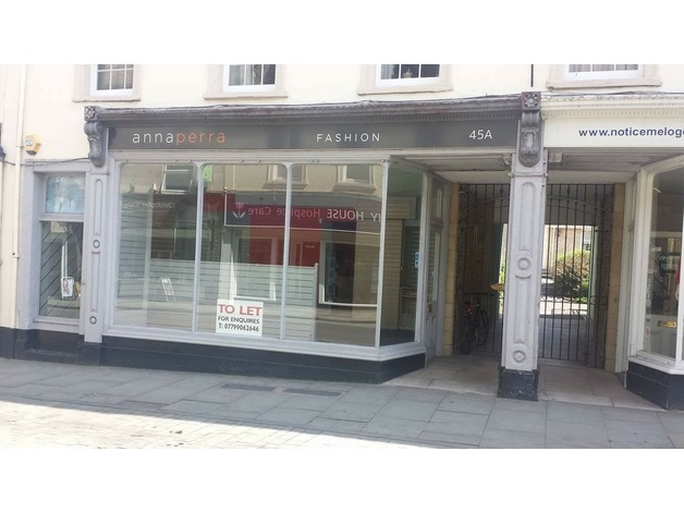 Shop To Let in Shepton Mallet in Shepton Mallet