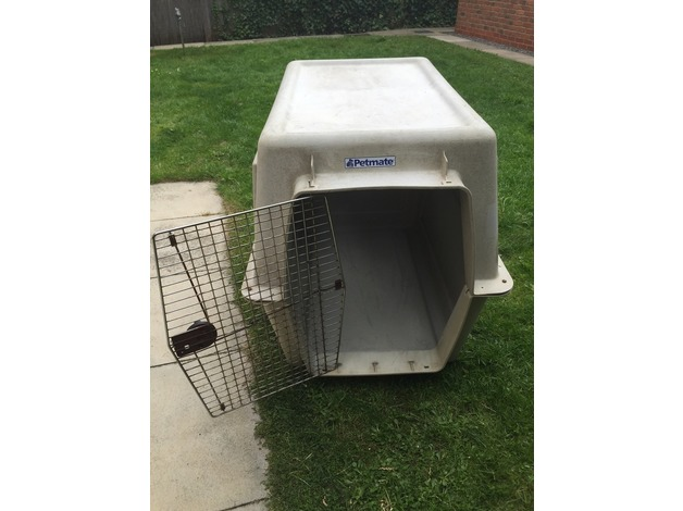 Dog Kennel - Petmate branded for use on airplanes in Stockton On Tees