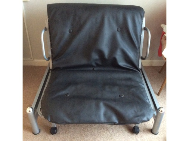 Single bed /folds into seat  in Sutton In Ashfield