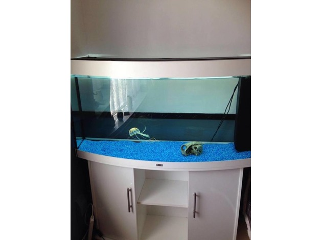 White Juwel vision 260,4ft bow fronted fish tank in Swansea