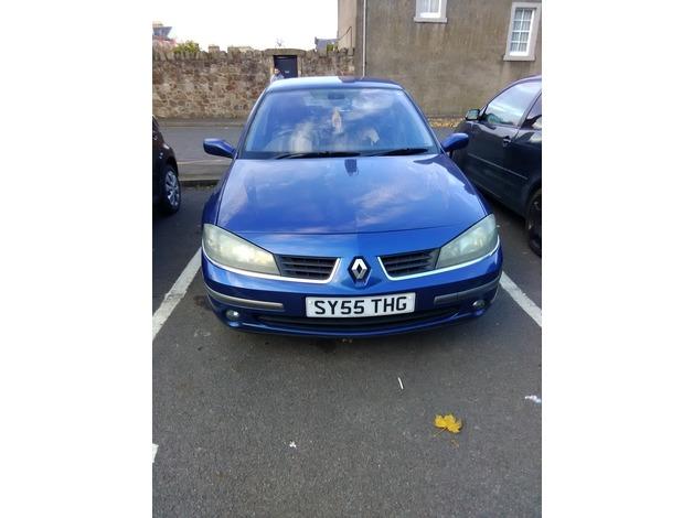 Renault Laguna, 2005 (55), Manual Diesel, 134,000 miles in Tranent
