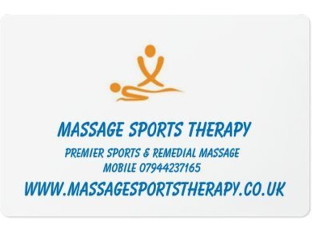 massage sports therapyn in Wakefield