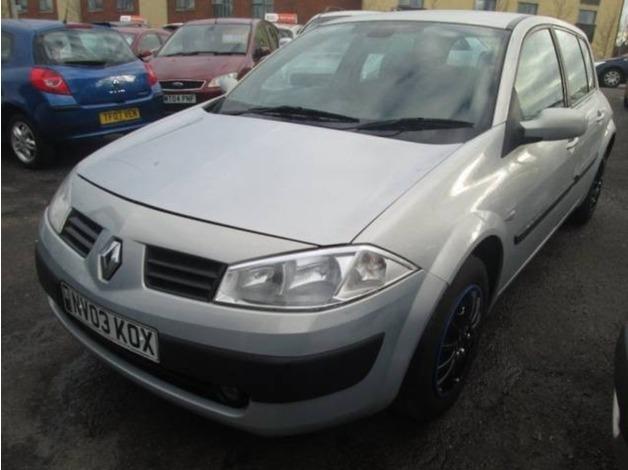 Renault MEGANE, 2003 (03), Manual Diesel, 100,000 miles in Warrington