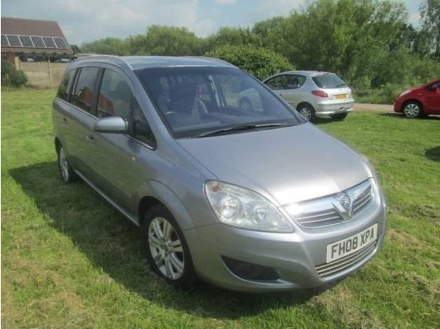 Vauxhall ZAFIRA, 2008 (08), Manual Diesel, 119,000 miles in Warrington