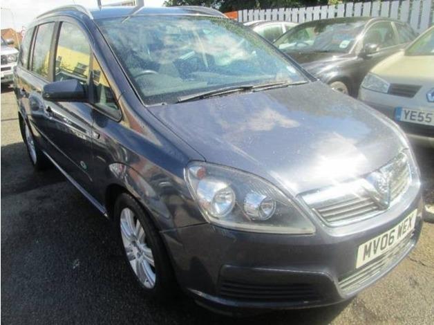 Vauxhall ZAFIRA, 2006 (06), Manual Petrol, 72,657 miles in Warrington