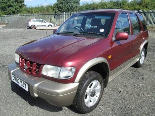 Kia SPORTAGE, 2002 (02), Manual Petrol, 105,000 miles in Warrington