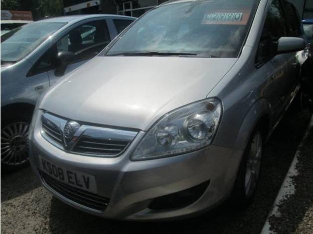 Vauxhall ZAFIRA, 2008 (08), Manual Petrol, 68,000 miles in Warrington