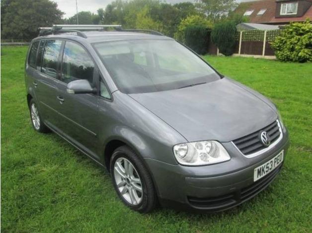 Volkswagen TOURAN, 2003 (53), Manual Diesel, 151,000 miles in Warrington