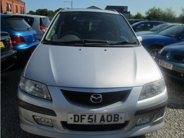 Mazda PREMACY, 2001 (51), Manual Petrol, 110,000 miles in Warrington