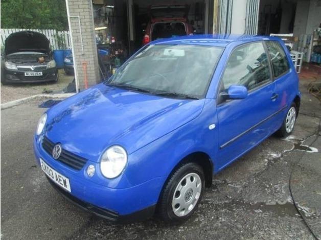 Volkswagen LUPO, 2003 (03), Manual Petrol, 52,661 miles in Warrington