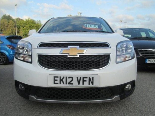 Chevrolet ORLANDO, 2012 (12), Manual Petrol, 57,000 miles in Warrington