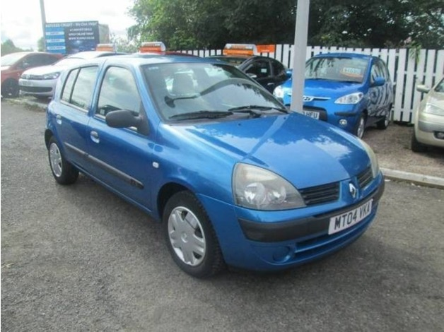 Renault CLIO, 2004 (04), Manual Petrol, 81,000 miles in Warrington